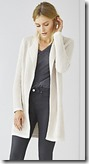 The White Company longline natural cardigan - navy also
