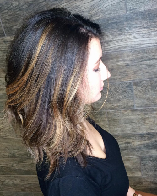 +10 Best Shoulder Length Haircuts for women's 2018 2