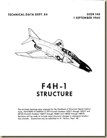 F4H-1 Structure Manal