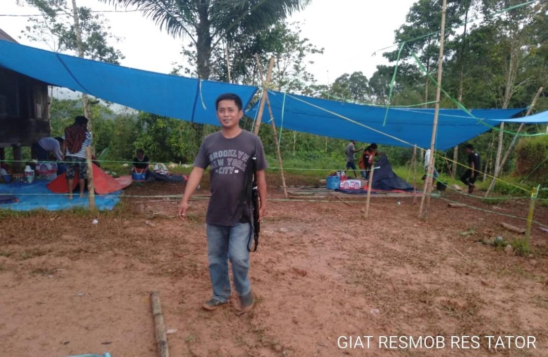Polisi Datang ke Sanggalangi', Warga Langsung Bubar Bersama Ayam Jagonya