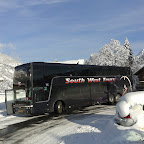 Vanhool van South West Tours bus 92