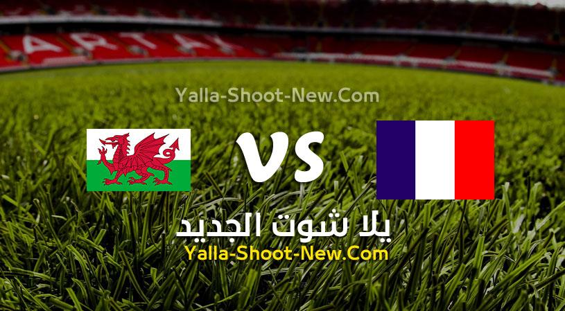 مباراة فرنسا وويلز