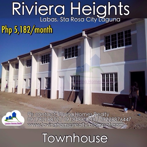 Riviera Heights Low Dp Pre Selling Murang Bahay Sta Rosa