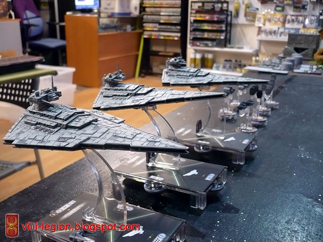 Star Wars Armada Destructores Imperiales