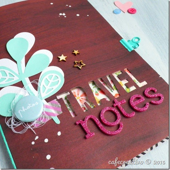 cafecreativo - sizzix big shot plus - scrapbooking - mini album
