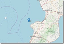 Terremoto di magnitudo 4.4 al largo di Tropea