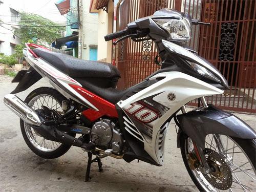 Exciter 2013 mới ra mắt được độ lại tại Sài Gòn