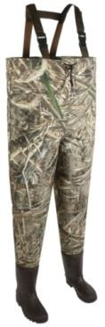 Allen Ridgeway Two-Ply Bootfoot Realtree MAX-5 Camo Waders.
