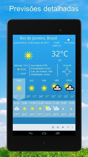 Clima ~ Previsão do tempo screenshot 8