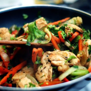 Quick and Easy Stir-Fry Chicken.