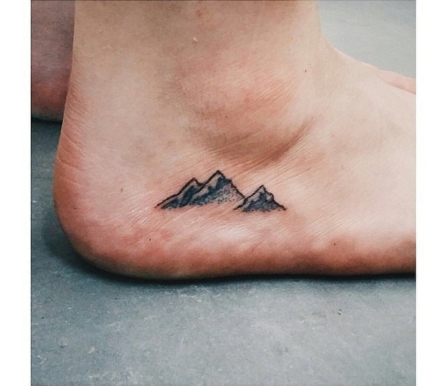 Brilliant Mountain Tattoo Design