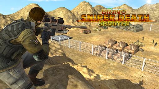 布拉沃狙击手:战争3D射击游戏