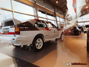 Audi Quattro Rally Car and Audi R8