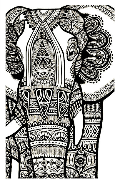 To Print This Free Coloring Page Coloringelephantteprintfor