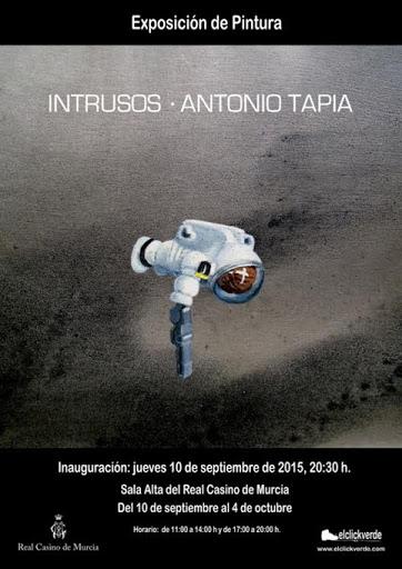 Exposición Intrusos, de Antonio Tapia