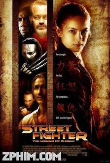 Đấu Sĩ Đường Phố: Huyền Thoại Về Chun-Li - Street Fighter: The Legend of Chun-Li (2009) Poster