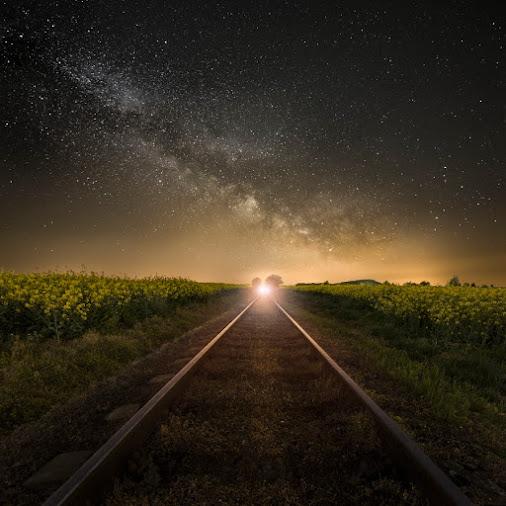 Midnight Express..  ... in the Czech Paradise.  www.milisphoto.eu   #hqspnight +HQSP Night #landscap...