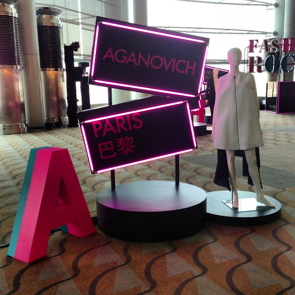 Photo: Fashion Extravaganza display for Aganovich