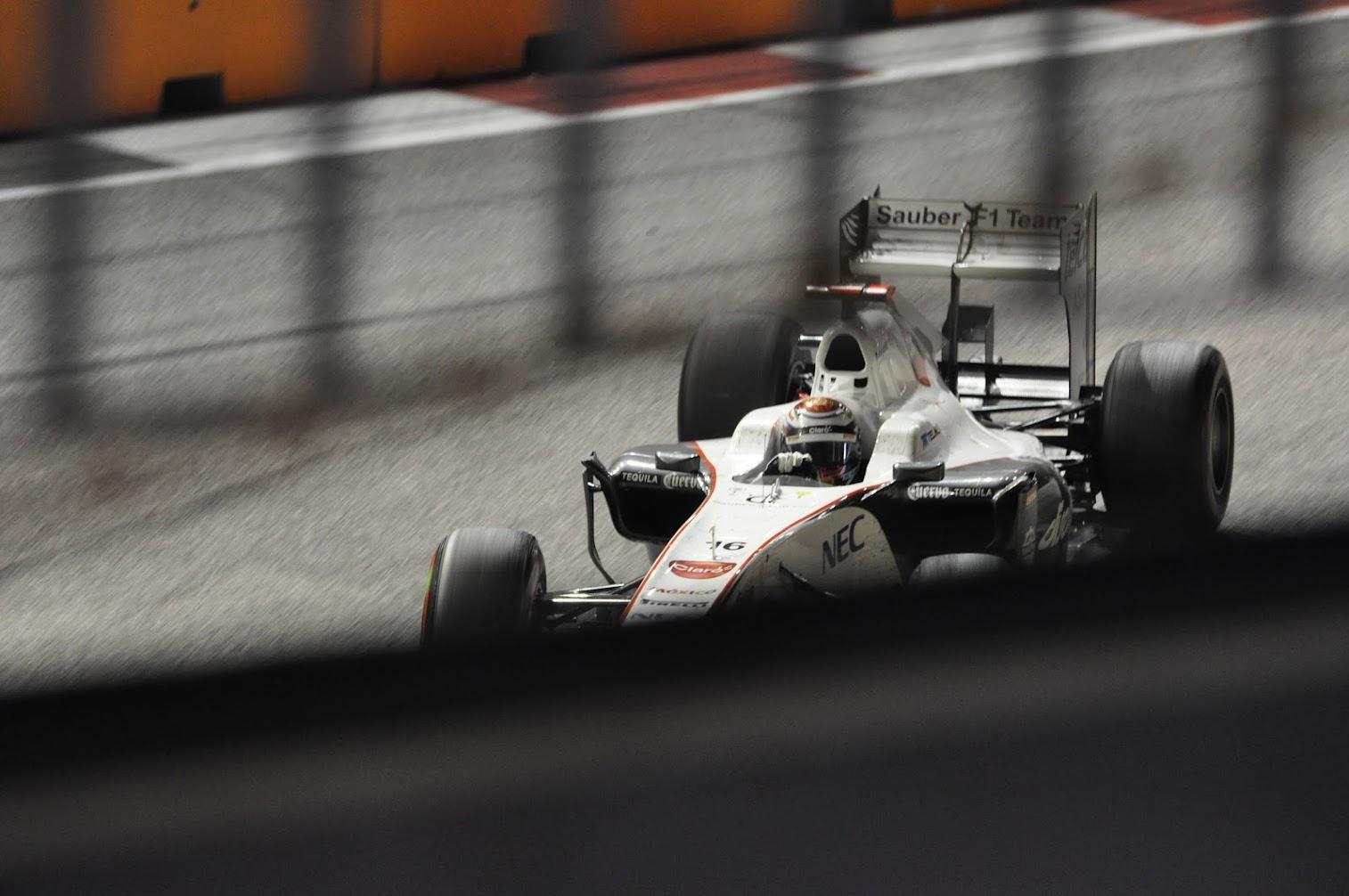 Kamui Kobayashi Sauber