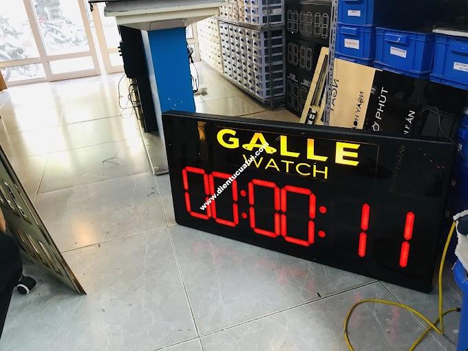 Đồng hồ led bấm giây thể thao - Giải đua Marathon GALLE WATCH tài trợ