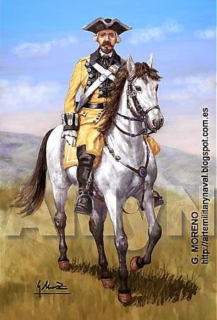 Regimiento Lusitania 1710