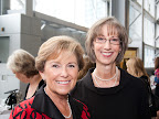 Ellen Ray and Mary Lee Hafley.
