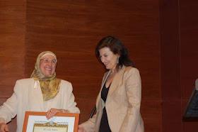15 ANIVERSARIO del CCIV.  Socia de Honor, Lola Bañon