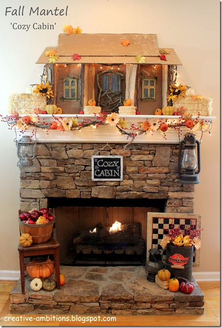 Fall Mantel 2017 c