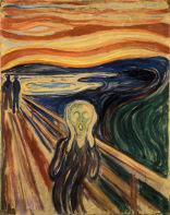 El grito, por Edvard Munch