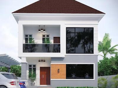 A five bedroom duplex