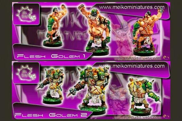 Golem de carne Blood Bowl Meiko Miniatures