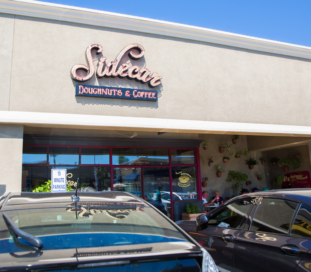 photo of the outside of Sidecar Doughnuts & Coffee