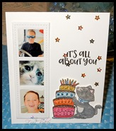 Newton Loves Cake B'day card_Front_FB772017