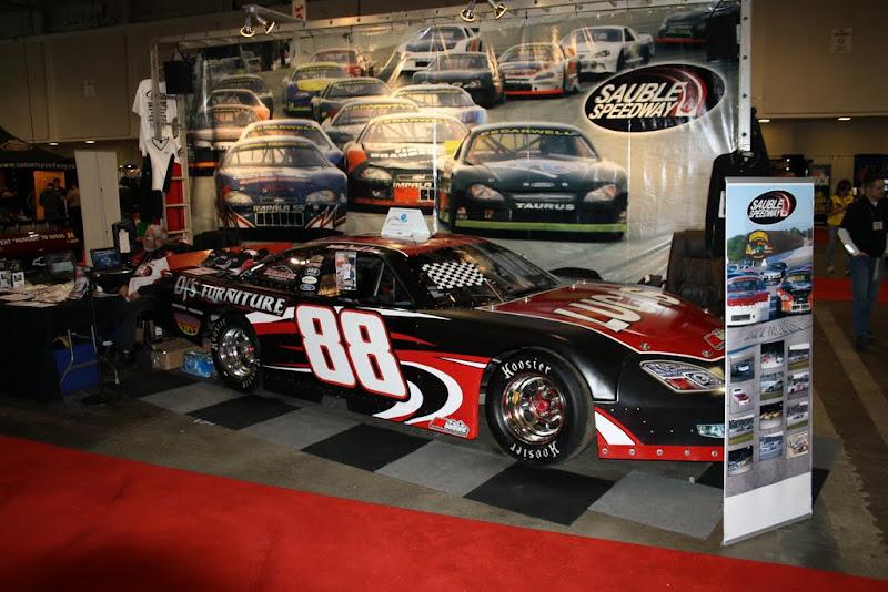 Sauble Speedway's display.