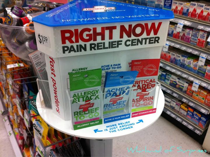 UrgentRx Aspirin To-Go products, #MyUrgentRx