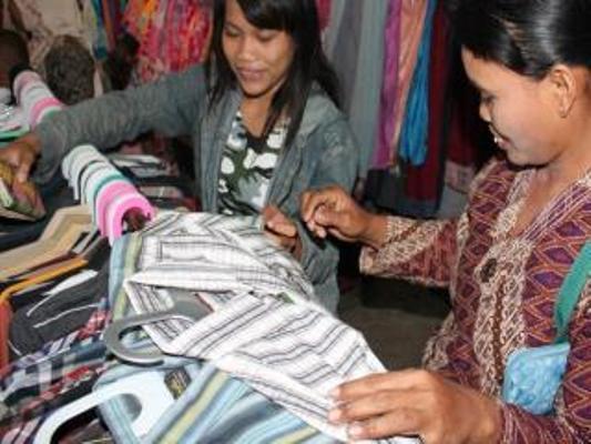 berita foto video sinar ngawi terkini: Sepinya pasar besar Ngawi ternyata pembeli lebih suka belanja di supermarket