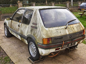 Abandoned Peugeot 205 GTI