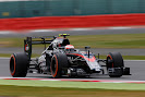 Jenson Button in action, McLaren MP4-30 Honda