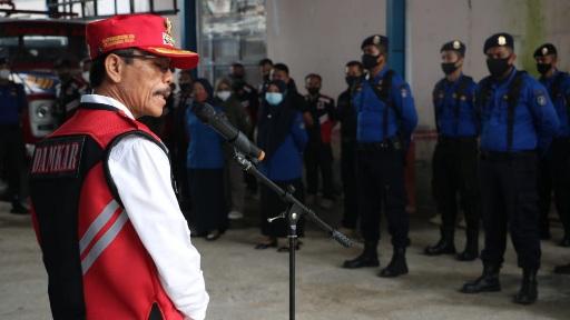 Lounching U-MONKI 113, Bupati Safaruddin Datuk Bandaro Rajo Apresiasi Damkar Limapuluh Kota