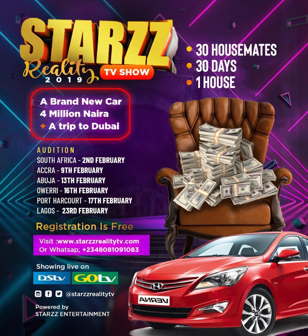 Starzz Reality TV Show
