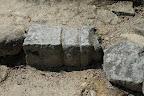 安土城:転用石