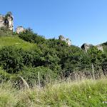 Château de Château-sur-Epte : donjon et rempart sud-est