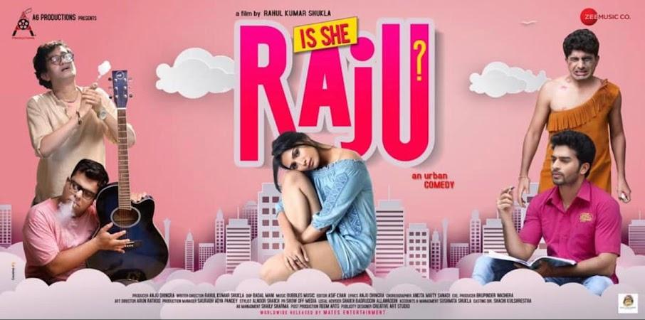 Watch Online Bollywood Movie Is She Raju? 2019 300MB HDRip 480P Full Hindi Film Free Download At WorldFree4u.Com