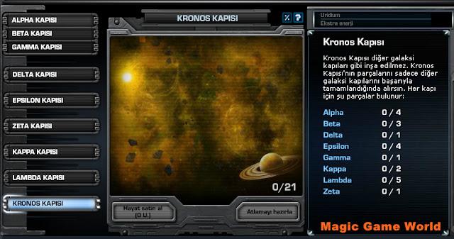 Darkorbit Kronos Galaksi Kapısı