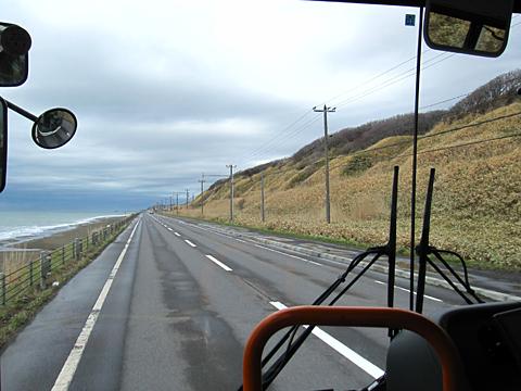沿岸バス「豊富留萌線」 1401 車窓 その5
