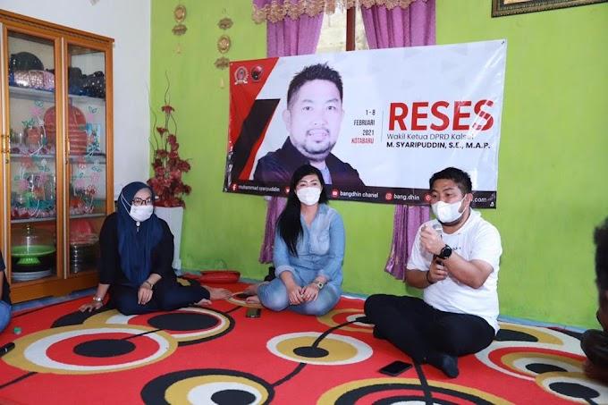 Reses Waket DPRD Kalsel di Kotabaru; Warga Nelayan Minta Genset