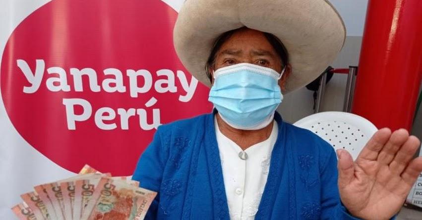 BONO YANAPAY: Afiliarán a cerca de 900 mil beneficiarios a las billeteras digital desde el lunes 11 de octubre