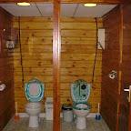 De wc's