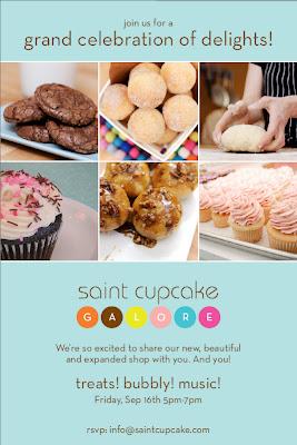 Saint Cupcake Galore Grand Opening