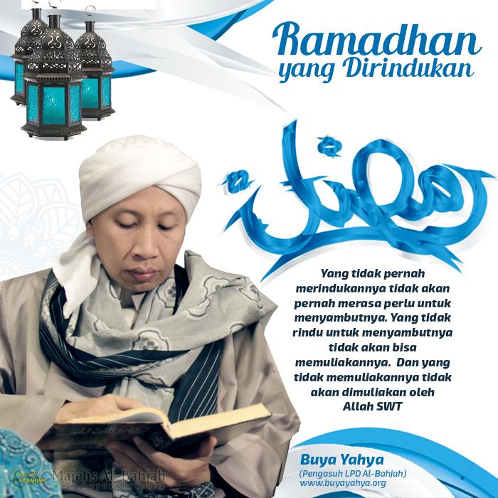 Nasehat Buya Yahya Dalam Mempersiapkan Diri Menyambut Ramadhan yang Dirindukan